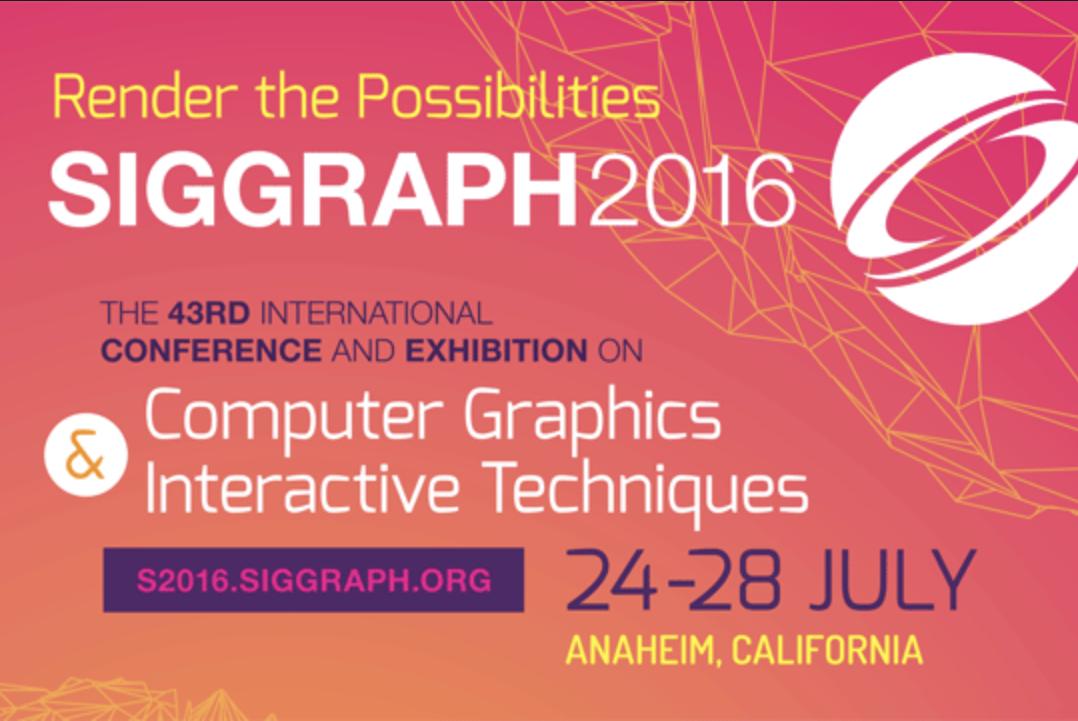 Siggraph 2016, Anaheim, CA, USA
